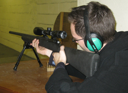 Shooting fullbore at Portishead Shooting Club